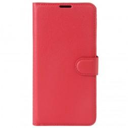 """Litchi"" atvēramais maciņš - sarkans (Nokia 3)"