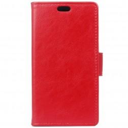 Atvēramais maciņš, grāmata - sarkans (Nokia 3)