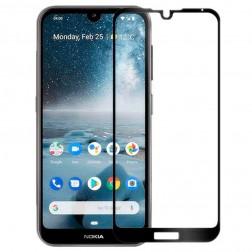 """""""Rurihai"""" Tempered Glass ekrāna aizsargstikls 0.26 mm - melns (Nokia 4.2)"""