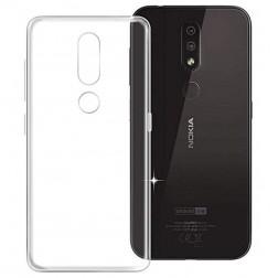 Cieta silikona (TPU) apvalks - dzidrs (Nokia 4.2)