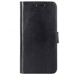 Atvēramais maciņš, grāmata - melns (Nokia 5.3)