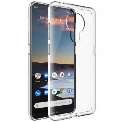 Cieta silikona (TPU) apvalks - dzidrs (Nokia 5.3)