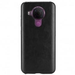 Soft Slim ādas apvalks - melns (Nokia 5.4)