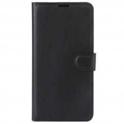 Atvēramais maciņš, grāmata - melns (Nokia 5)