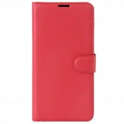 Atvēramais maciņš, grāmata - sarkans (Nokia 5)