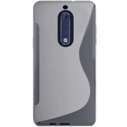"""S-Line"" cieta silikona (TPU) apvalks - dzidrs (Nokia 5)"