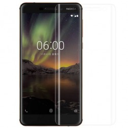 """""""Imak"""" ekrāna aizsargplēve (pilnīgi aizsedzama) - dzidra (Nokia 6 2018)"""