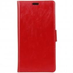 Atvēramais maciņš, grāmata - sarkans (Nokia 6 2018 / Nokia 6.1)