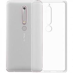 Planākais TPU apvalks - dzidrs (Nokia 6 2018 / Nokia 6.1)