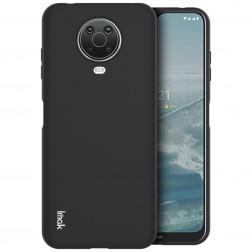 """""""Imak"""" cieta silikona (TPU) apvalks - melns (Nokia 6.3 / G10 / G20)"""