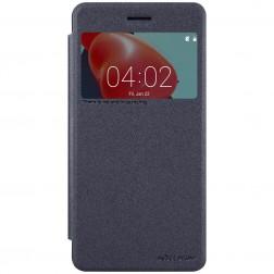 """""""Nillkin"""" Sparkle atvēramais maciņš - pelēks (Nokia 6)"""