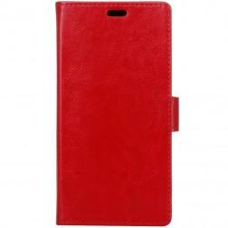 Atvēramais maciņš, grāmata - sarkans (Nokia 6)