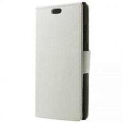 Solīds tvēramais futrālis - balts (Lumia 730 / 735)