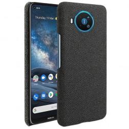 """""""Fashion"""" cieta silikona (TPU) apvalks - melns (Nokia 8.3)"""