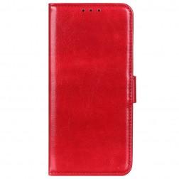 Atvēramais maciņš, grāmata - sarkans (Nokia 8.3)