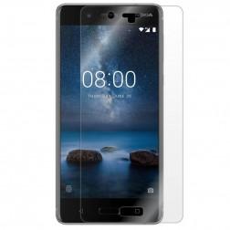 """""""Imak"""" ekrāna aizsargplēves (pilnīgi aizsedzama) komplekts- dzidras (Nokia 8)"""