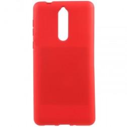 """Mercury"" Soft apvalks - sarkans (Nokia 8)"