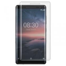 """""""Calans"""" Tempered Glass pilnīgi aizsedzams ekrāna aizsargstikls 0.2 mm - dzidrs (Nokia 8 Sirocco)"""