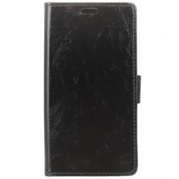 Atvēramais maciņš, grāmata - melns (Nokia 8 Sirocco)