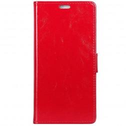 Atvēramais maciņš, grāmata - sarkans (Nokia 9 PureView)