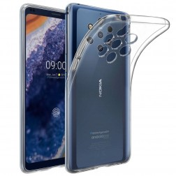 Cieta silikona (TPU) apvalks - dzidrs (Nokia 9 PureView)