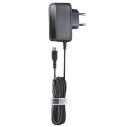 """""""Nokia"""" sienas lādētājs ar micro USB vadu - melns"""