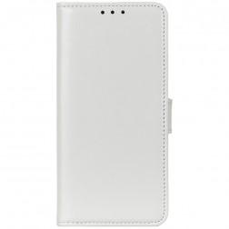 Atvērams maciņš - balts (Nokia C10 / C20)
