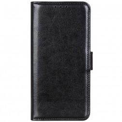Atvērams maciņš - melns (Nokia C10 / C20)