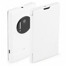 """ROCK"" Elegant atvēramais futrālis - balts (Lumia 1020)"
