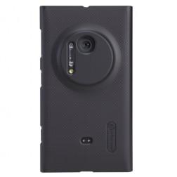 """Nillkin"" Frosted Shield futrālis - melns + ekrāna aizsargplēve (Lumia 1020)"
