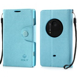 """""""MLT"""" atvēramais futrālis - gaiši zils (Lumia 1020)"""