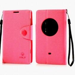 """""""MLT"""" atvēramais futrālis - rozs (Lumia 1020)"""