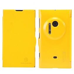 """""""Nillkin"""" Fresh atvēramais futrālis - dzeltens (Lumia 1020)"""