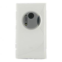 Cieta silikona futrālis - dzidrs (Lumia 1020)