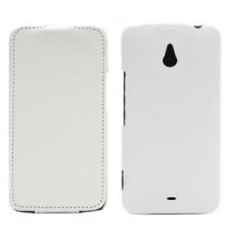 Vertikāli atvēramais futrālis - balts (Lumia 1320)
