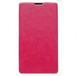 Atvēramais maciņš - rozs (Lumia 1320)