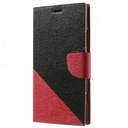 """""""Double"""" atvērams maciņš - sarkans (Lumia 1520)"""