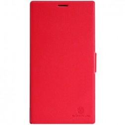 """""""Nillkin"""" Fresh atvēramais maciņš - sarkans (Lumia 1520)"""