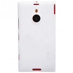"""""""Nillkin"""" Frosted Shield futrālis - balts + ekrāna aizsargplēve (Lumia 1520)"""