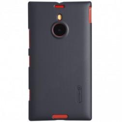 """Nillkin"" Frosted Shield futrālis - melns + ekrāna aizsargplēve (Lumia 1520)"
