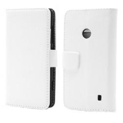 Atvērams maciņš - balts (Lumia 520)