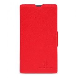 """Nillkin"" Fresh atvēramais futrālis - sarkans (Lumia 520)"