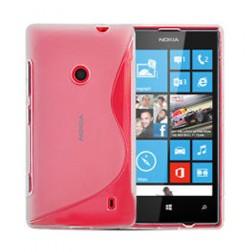 Cieta silikona futrālis - dzidrs (Lumia 520)