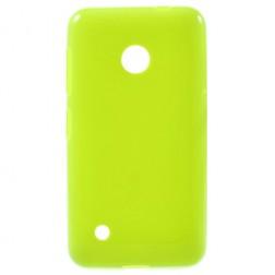 """Jelly Case"" cieta silikona futrālis - zaļš (Lumia 530)"