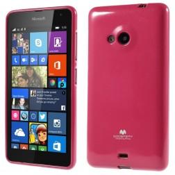 """""""Mercury"""" apvalks - tumši rozs (Lumia 535)"""