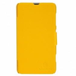 """""""Nillkin"""" Fresh atvēramais futrālis - dzeltens (Lumia 625)"""