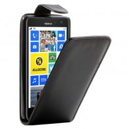 Klasisks atvēramais futrālis - melns (Lumia 625)
