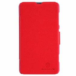 """Nillkin"" Fresh atvēramais futrālis - sarkans (Lumia 625)"