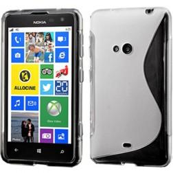 Cieta silikona futrālis - dzidrs (Lumia 625)