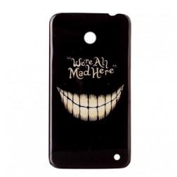 """Mad"" plastmasas futrālis - melns (Lumia 630 / 635)"